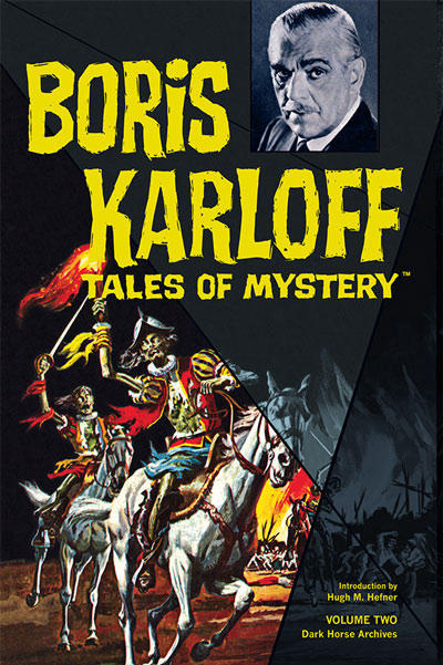 Cover for Boris Karloff Tales of Mystery Archives (Dark Horse, 2009 series) #2
