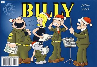 Cover for Billy julehefte (Hjemmet / Egmont, 1970 series) #2009