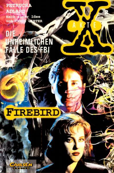 Cover for Akte X (Carlsen Comics [DE], 1996 series) #2