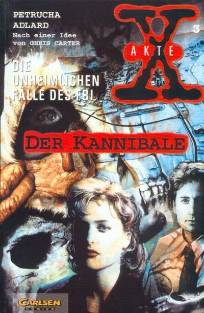 Cover for Akte X (Carlsen Comics [DE], 1996 series) #3