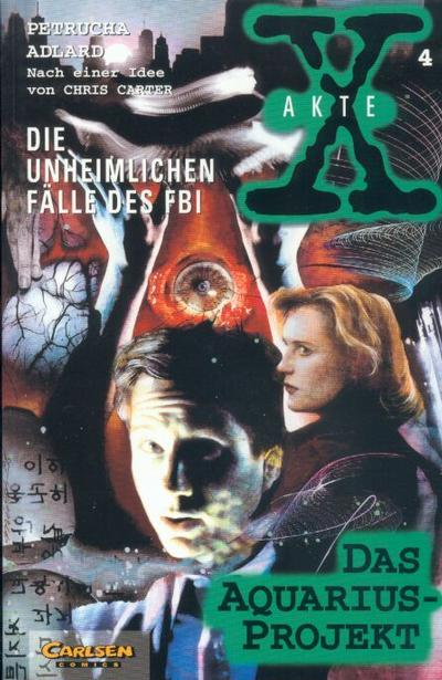 Cover for Akte X (Carlsen Comics [DE], 1996 series) #4