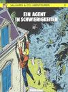 Cover for Valhardi & Co., Abenteurer (Carlsen Comics [DE], 1985 series) #7 - Ein Agent in Schwierigkeiten