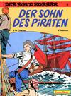 Cover for Der Rote Korsar (Carlsen Comics [DE], 1985 series) #3 - Der Sohn des Piraten
