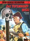 Cover for Der Rote Korsar (Carlsen Comics [DE], 1985 series) #7 - Die Totenkopfinsel