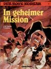 Cover for Der Rote Korsar (Carlsen Comics [DE], 1985 series) #12 - In geheimer Mission