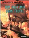 Cover for Der Rote Korsar (Carlsen Comics [DE], 1985 series) #13 - Der Pakt mit dem Teufel