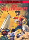Cover for Der Rote Korsar (Carlsen Comics [DE], 1985 series) #17 - Das Höllenschiff
