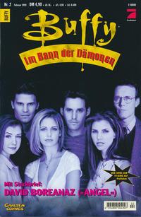 Cover Thumbnail for Buffy (Carlsen Comics [DE], 1998 series) #2