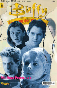 Cover Thumbnail for Buffy (Carlsen Comics [DE], 1998 series) #18