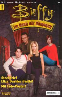 Cover Thumbnail for Buffy (Carlsen Comics [DE], 1998 series) #24