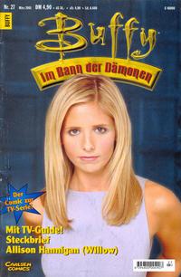 Cover Thumbnail for Buffy (Carlsen Comics [DE], 1998 series) #27
