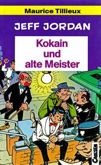 Cover Thumbnail for Carlsen Pocket (Carlsen Comics [DE], 1990 series) #25 - Jeff Jordan - Kokain und alte Meister
