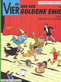 Cover Thumbnail for Die Vier (Carlsen Comics [DE], 1973 series) #6 - Die Vier und der Goldene Emil