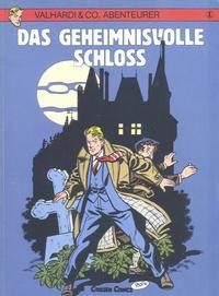 Cover Thumbnail for Valhardi & Co., Abenteurer (Carlsen Comics [DE], 1985 series) #1 - Das geheimnisvolle Schloss
