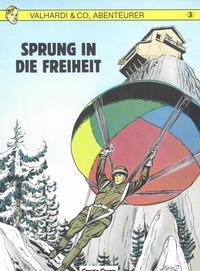 Cover Thumbnail for Valhardi & Co., Abenteurer (Carlsen Comics [DE], 1985 series) #3 - Sprung in die Freiheit