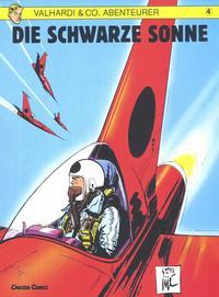 Cover Thumbnail for Valhardi & Co., Abenteurer (Carlsen Comics [DE], 1985 series) #4 - Die schwarze Sonne