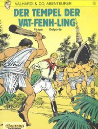 Cover Thumbnail for Valhardi & Co., Abenteurer (Carlsen Comics [DE], 1985 series) #15 - Der Tempel von Vat-Fenh-Ling