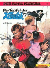 Cover Thumbnail for Der Rote Korsar (Carlsen Comics [DE], 1985 series) #1 - Der Teufel der Karibik