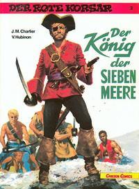 Cover Thumbnail for Der Rote Korsar (Carlsen Comics [DE], 1985 series) #2 - Der König der sieben Meere