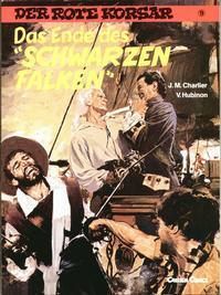 """Cover Thumbnail for Der Rote Korsar (Carlsen Comics [DE], 1985 series) #9 - Das Ende des """"Schwarzen Falken"""""""