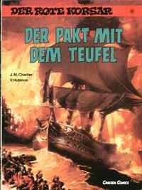 Cover Thumbnail for Der Rote Korsar (Carlsen Comics [DE], 1985 series) #13 - Der Pakt mit dem Teufel