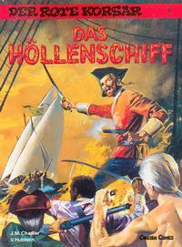 Cover Thumbnail for Der Rote Korsar (Carlsen Comics [DE], 1985 series) #17 - Das Höllenschiff