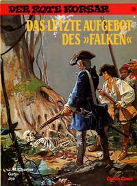 "Cover Thumbnail for Der Rote Korsar (Carlsen Comics [DE], 1985 series) #20 - Das letzte Aufgebot des ""Falken"""