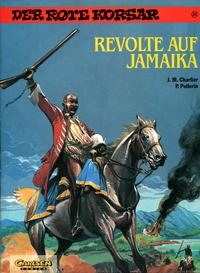 Cover Thumbnail for Der Rote Korsar (Carlsen Comics [DE], 1985 series) #24 - Revolte auf Jamaika