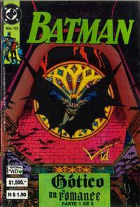 Cover Thumbnail for Batman (Grupo Editorial Vid, 1987 series) #153