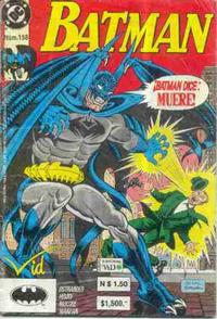 Cover Thumbnail for Batman (Grupo Editorial Vid, 1987 series) #158