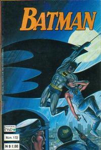 Cover Thumbnail for Batman (Grupo Editorial Vid, 1987 series) #172