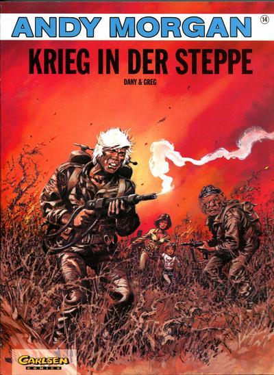 Cover for Andy Morgan (Carlsen Comics [DE], 1986 series) #14 - Krieg in der Steppe