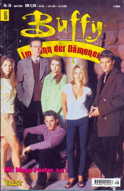Cover for Buffy (Carlsen Comics [DE], 1998 series) #16