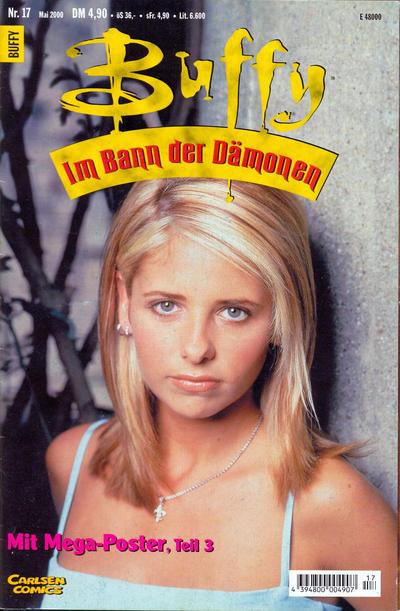 Cover for Buffy (Carlsen Comics [DE], 1998 series) #17