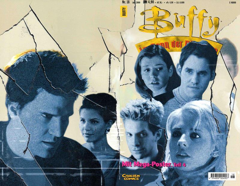 Cover for Buffy (Carlsen Comics [DE], 1998 series) #18