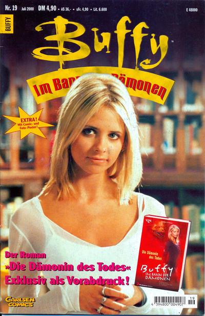 Cover for Buffy (Carlsen Comics [DE], 1998 series) #19