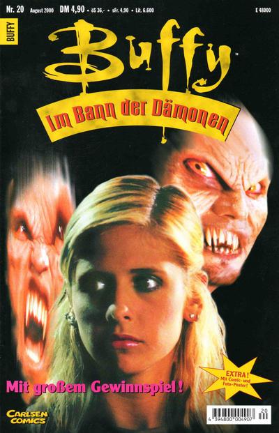 Cover for Buffy (Carlsen Comics [DE], 1998 series) #20