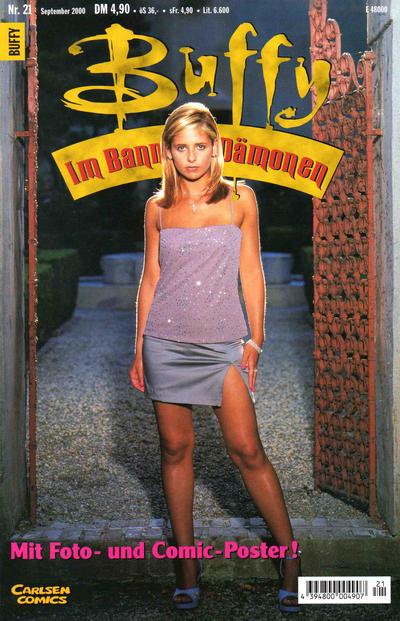 Cover for Buffy (Carlsen Comics [DE], 1998 series) #21