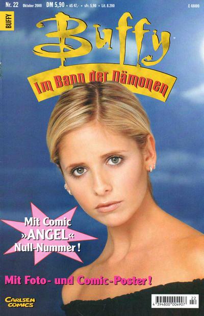 Cover for Buffy (Carlsen Comics [DE], 1998 series) #22