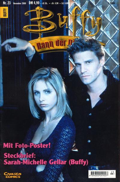 Cover for Buffy (Carlsen Comics [DE], 1998 series) #23