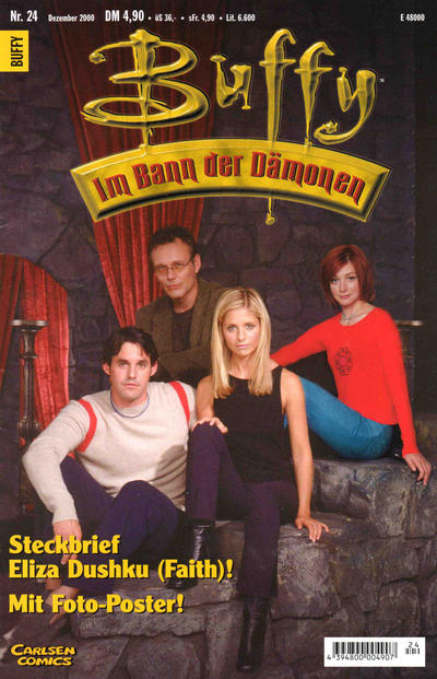 Cover for Buffy (Carlsen Comics [DE], 1998 series) #24