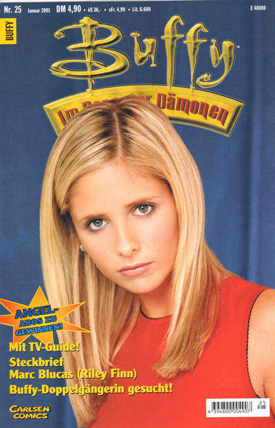 Cover for Buffy (Carlsen Comics [DE], 1998 series) #25