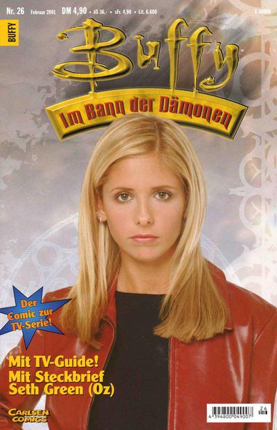 Cover for Buffy (Carlsen Comics [DE], 1998 series) #26