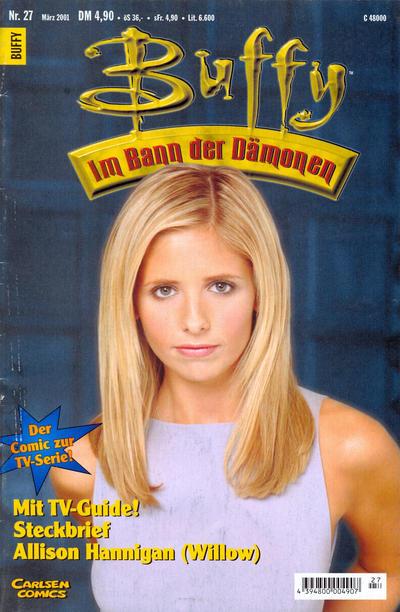 Cover for Buffy (Carlsen Comics [DE], 1998 series) #27