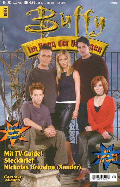 Cover for Buffy (Carlsen Comics [DE], 1998 series) #28