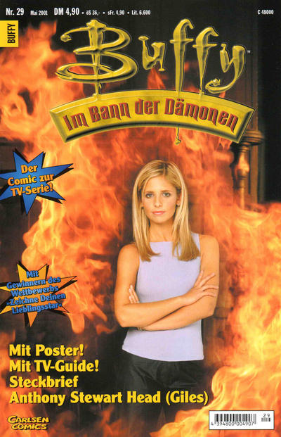Cover for Buffy (Carlsen Comics [DE], 1998 series) #29