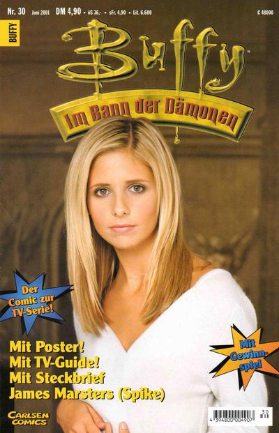 Cover for Buffy (Carlsen Comics [DE], 1998 series) #30