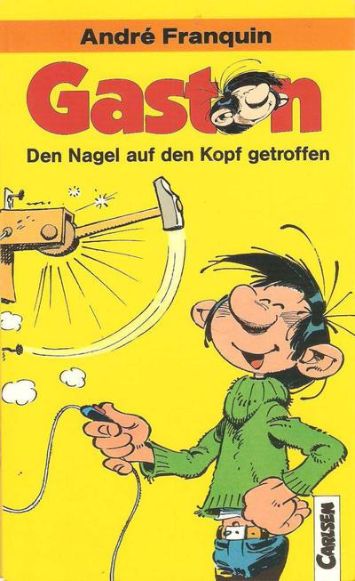 Cover for Carlsen Pocket (Carlsen Comics [DE], 1990 series) #1 - Gaston - Den Nagel auf den Kopf getroffen