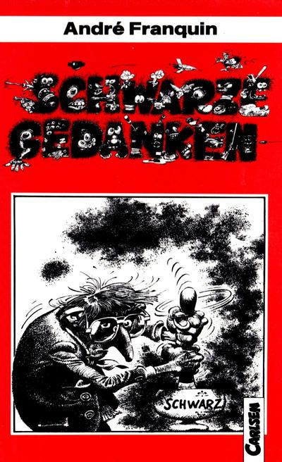 Cover for Carlsen Pocket (Carlsen Comics [DE], 1990 series) #2 - Schwarze Gedanken