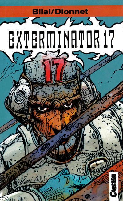 Cover for Carlsen Pocket (Carlsen Comics [DE], 1990 series) #3 - Exterminator 17